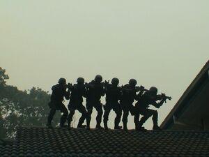 Unit Tindakan Khas PGK CT's drill