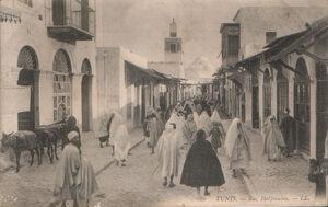 Tunis Rus Halfaouine