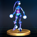 Blue Alloy - Brawl Trophy