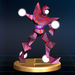 Red Alloy - Brawl Trophy