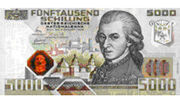 First kinegram banknote