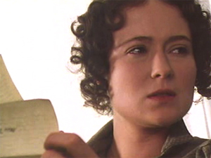 35 elizabeth reading Pride and Prejudice