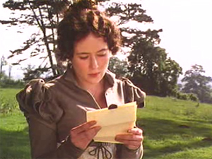 35 reading letter Pride and Prejudice