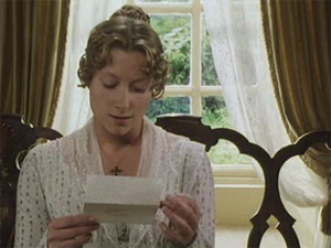 21 jane reads letter Pride and Prejudice