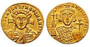Solidus of Justinian II,