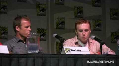 Human Target Panel at Comic Con Part 1