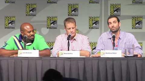 Comic-Con 2010 Human Target