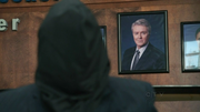 Wikia HT - Hooded Ken Lydecker with portrait