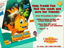 HE Catalog Freddi Fish And The Case Of The Missing Kelp Seeds Screen (1995)