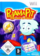 Pajama Sam Box Art Wii German Front
