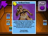 Cardboard Woman Trading Card