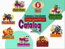 HE Catalog Demos Screen (1995)