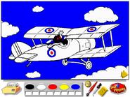Airport Coloring Book