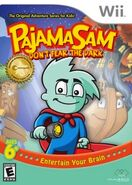 Pajama Sam Box Art Wii