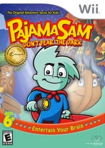 File:Pajama Sam Box Art Wii.jpg