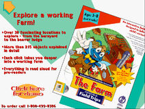 HE Catalog Let's Explore The Farm With Buzzy The Knowledge Bug Screen (1995)