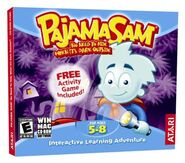 Pajama Sam Box Art Atari