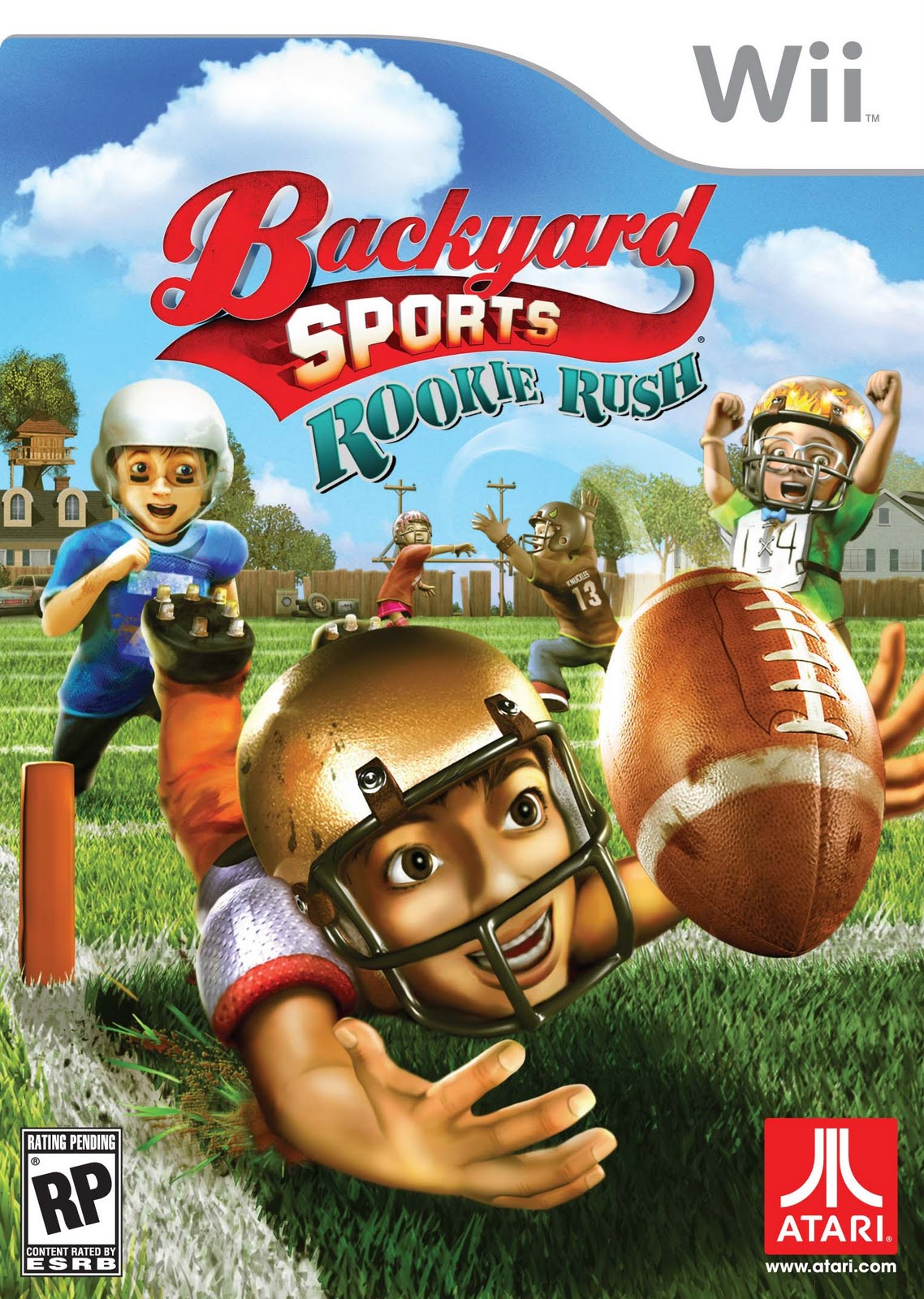 Backyard Football Video Game backyard sports: rookie rush | humongous entertainment games wiki