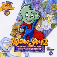 Pajama Sam 2 Box Art