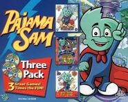 Pajama Sam 2 Box Art 3 Pack
