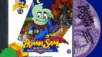 A SOMEWHAT WALKTHROUGH OF PAJAMA SAM NO NEED TO HIDE WHEN IT'S DARK OUTSIDE IN HD