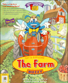 Let's Explore the Farm - cover box