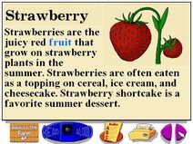 Buzzy's Information about Strawberries