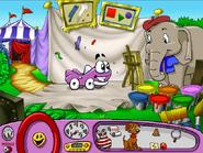 Baby Jambo's Paint Area