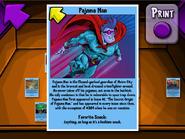 Pajama Man Trading Card