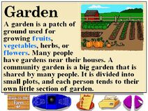 Buzzy's research facts about farm gardens
