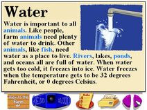 Buzzy's Information about Water