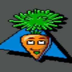 Carrot as a Pajama Sam 2 item.