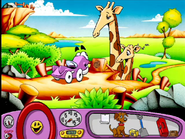 Putt-Putt, Masai and Mrs Giraffe