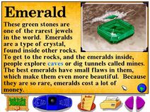 Buzzy's Information about the Green Jungle Emerald Stones