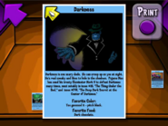 Darkness Trading Card