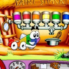 Colorful Putt Putt