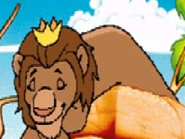 King Leo Sleeping