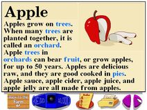 Buzzy's information about the farm apples