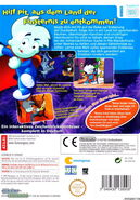 Pajama Sam Box Art Wii German Back