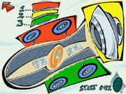 Rocket Powered Origami Skateboard