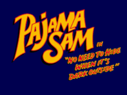 Pajama Sam PC-title