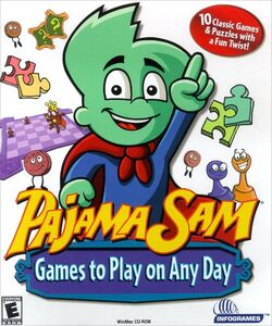 PajamaSam GamestoPlayonAnyDayFrontCover