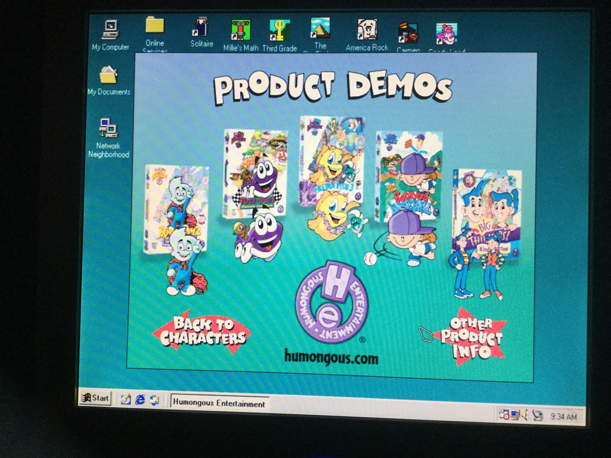 humongous entertainment product catalog spring 1999 humongous