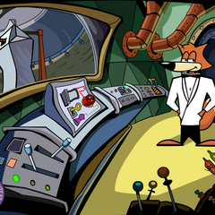 Official wallpaper featuring SPY Fox.