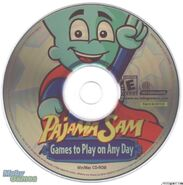 PajamaSam GamestoPlayonAnyDayDisc