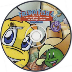 The original disk artwork