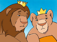 King Leo and Queen Leona