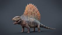 267px-Dimetrodon grandis 3D Model Reconstruction