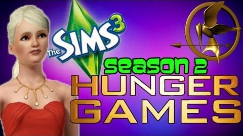 Sims 3 HUNGER GAMES - KIM'S BIG MOUTH!!! 1 (Season 2 Sims Hunger Games)