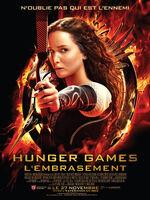 Hunger games l'embrasement - affiche